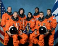 STS-107 Official NASA Crew Portrait